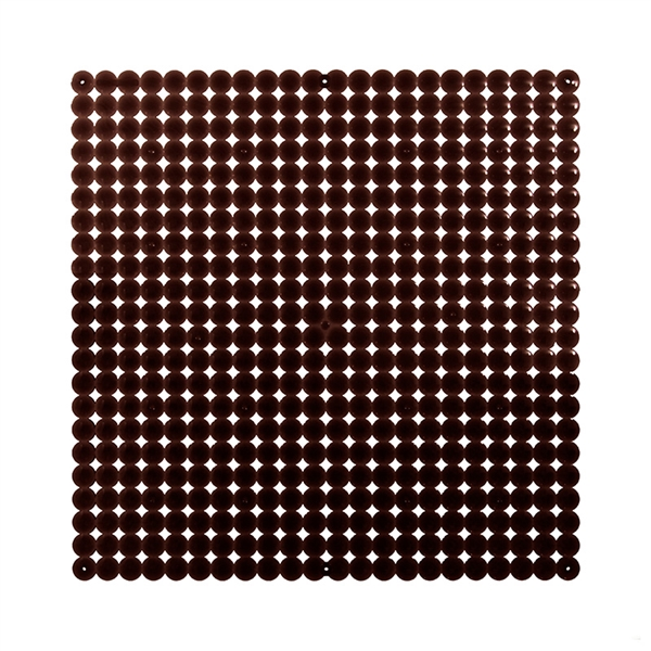 VedoNonVedo Timesquare big decorative element for furnishing and dividing rooms - brown