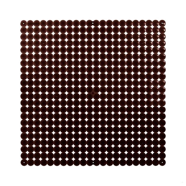 VedoNonVedo Timesquare grande elemento decorativo per arredare e dividere gli spazi - marrone