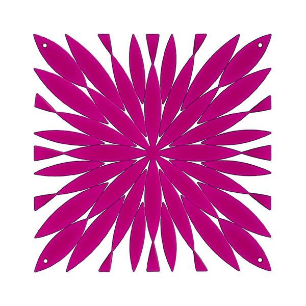 VedoNonVedo Daisy big decorative element for furnishing and dividing rooms - fuchsia transparent