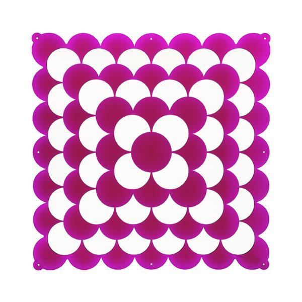 VedoNonVedo Optic dekoratives Element zur Einrichtung und Teilung von Räumen - fuchsia transparent