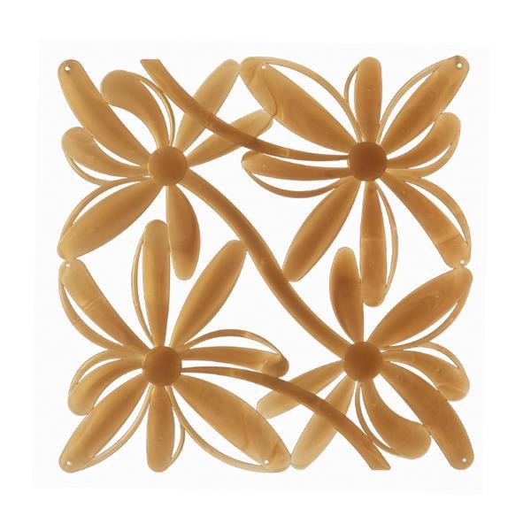 VedoNonVedo Positano elemento decorativo per arredare e dividere gli spazi - dorato trasparente