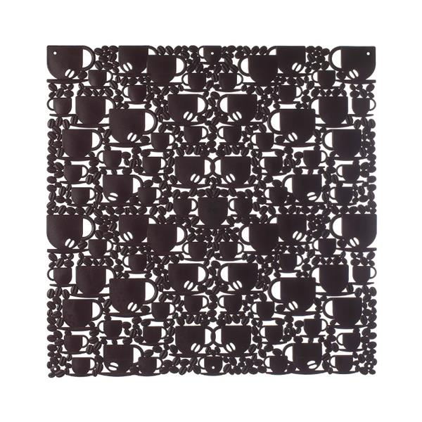 VedoNonVedo O'Caffé decorative element for furnishing and dividing rooms - brown