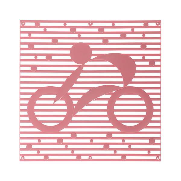 VedoNonVedo Hop Hop decorative element for furnishing and dividing rooms - pink