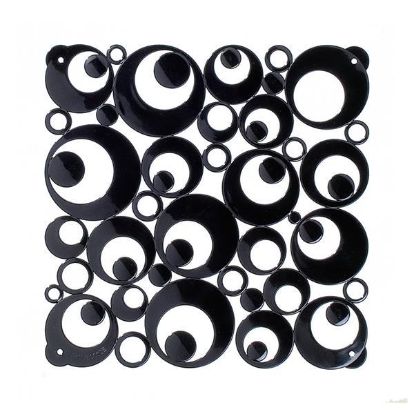 VedoNonVedo Settantuno Trenn- und Dekorationselemente - schwarz