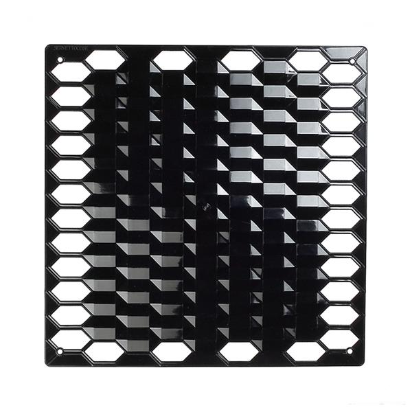 VedoNonVedo Diamante decorative element for furnishing and dividing rooms - black