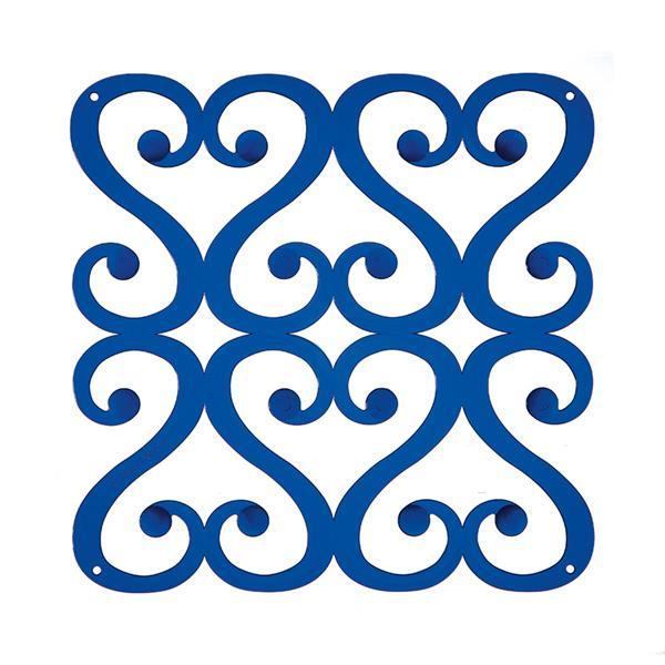 VedoNonVedo Versailles élément décoratif pour meubler et diviser les espaces - Bleu transparente