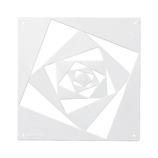 VedoNonVedo Twist decorative element for furnishing and dividing rooms - white
