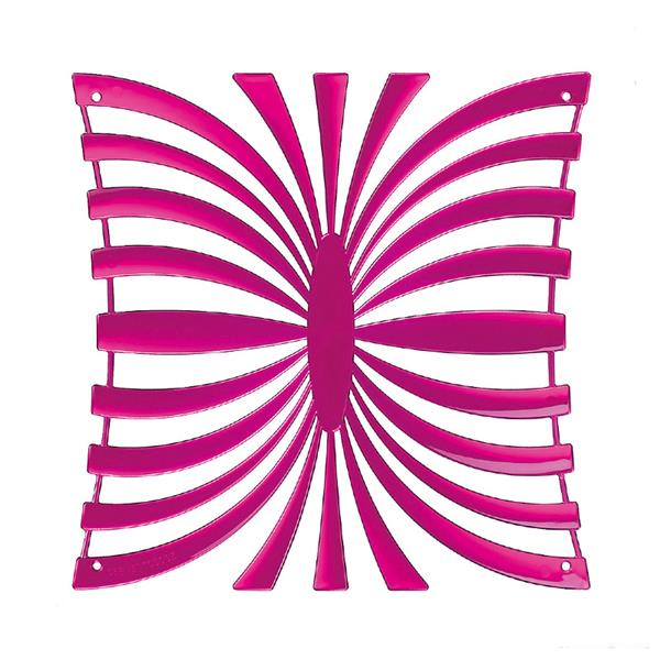 VedoNonVedo Mariposa decorative element for furnishing and dividing rooms - transparent fuchsia