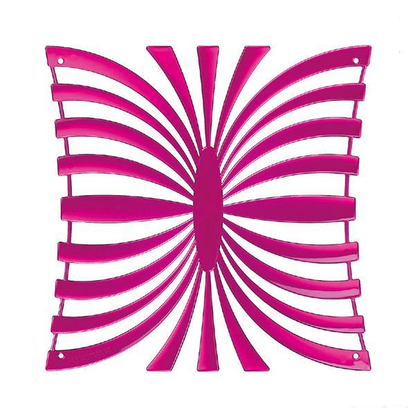 VedoNonVedo Mariposa élément décoratif pour meubler et diviser les espaces - Fuchsia transparent