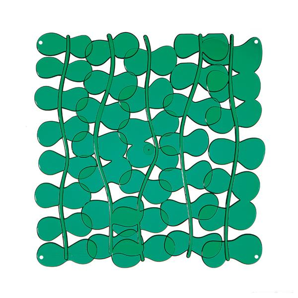 VedoNonVedo Eli decorative element for furnishing and dividing rooms - transparent green