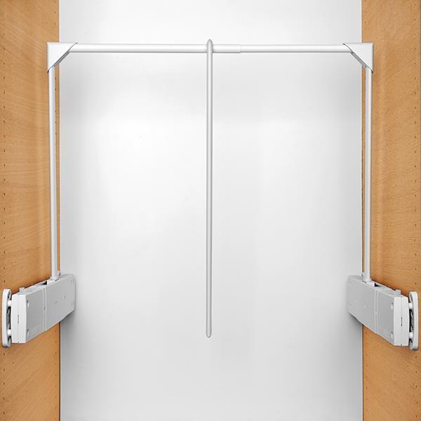 Servetto Super wardrobe lift - white-white