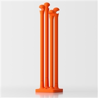 Kalimera free-standing coat stand - orange