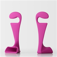 Pisolo bedroom clothes stand - fuchsia
