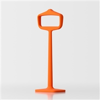 Bobo bedroom coat stand - orange