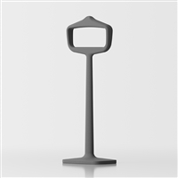 Bobo bedroom coat stand - grey