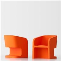 Michelle poltrona design - arancione