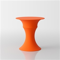 Olimpo  designer coffee table by Servetto - orange