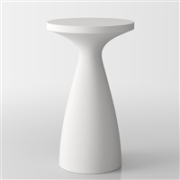 Drink modern bistro high table aperitfs - white