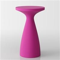 Drink moderno tavolo alto - tavolo da bistrot - fucsia