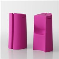 Kalispera designer high stool - fuchsia