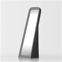 Cenerentola free-standing mirror - grey