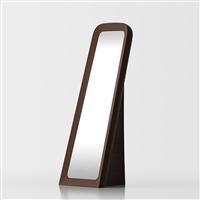 Cenerentola specchio da terra - marrone