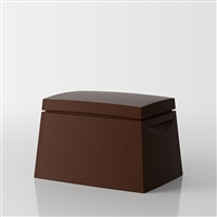 Big Box Multi-purpose trunk by Servetto - brown