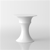 Olimpo white glossy lacquer