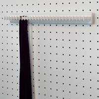 Portacravatte fisso - 28 hooks - white-white