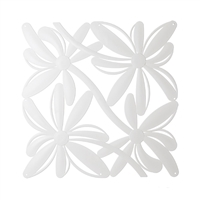 VedoNonVedo Positano decorative element for furnishing and dividing rooms - white