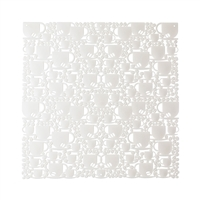 VedoNonVedo O'Caffè decorative element for furnishing and dividing rooms - white