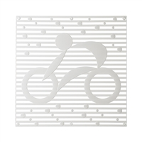 VedoNonVedo Hop Hop decorative element for furnishing and dividing rooms - transparent