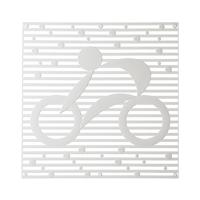 VedoNonVedo Hop Hop elemento decorativo per arredare e dividere gli spazi - trasparente