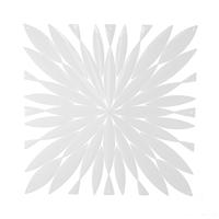 VedoNonVedo Daisy grande elemento decorativo per arredare e dividere gli spazi - bianco