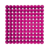 VedoNonVedo Timesquare decorative element for furnishing and dividing rooms - transparent fuchsia