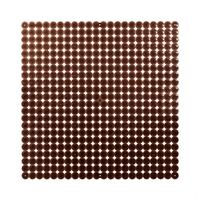 VedoNonVedo Timesquare grande elemento decorativo per arredare e dividere gli spazi brown fumè