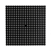 VedoNonVedo Timesquare big decorative element for furnishing and dividing rooms - black