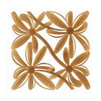 VedoNonVedo Positano decorative element for furnishing and dividing rooms - transparent gold