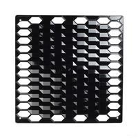 VedoNonVedo Diamante decorative element for furnishing and dividing rooms - black