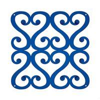 VedoNonVedo Versailles elemento decorativo per arredare e dividere gli spazi - trasparente blu
