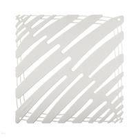 VedoNonVedo Tratto decorative element for furnishing and dividing rooms - white